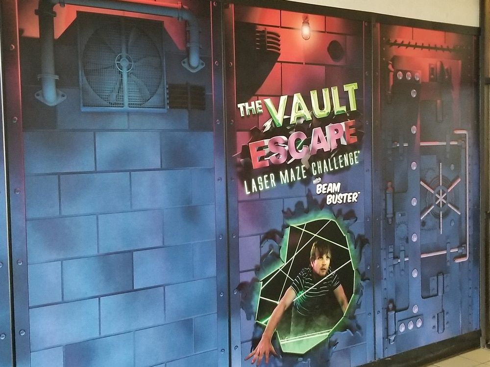 The Vault Laser Maze